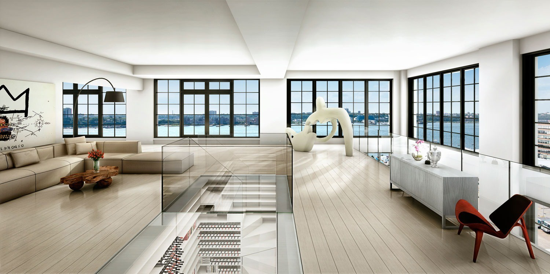 Elegant penthouse in Soho, New York City