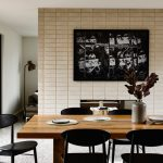 Examples of interior design in the living room and dining room to check out