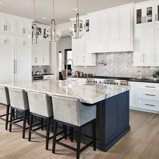 Examples of modern kitchen design that inspire you