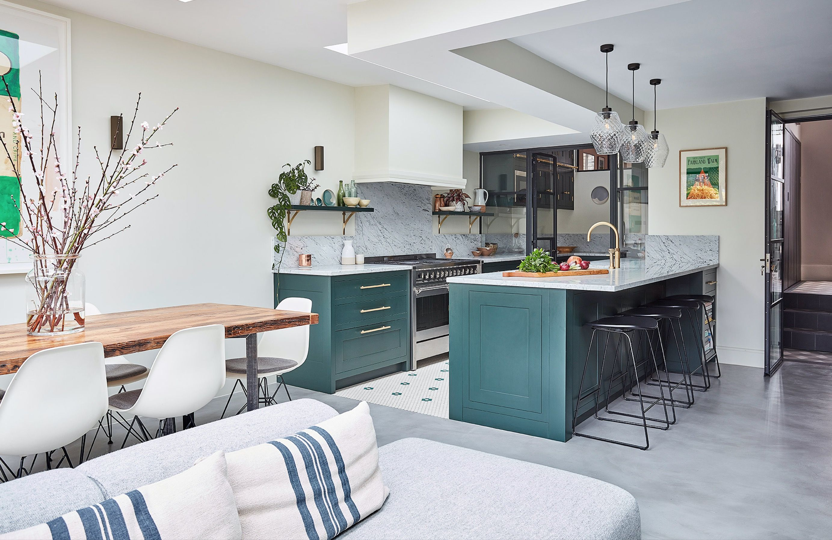 Find out about the latest trends in kitchen colors