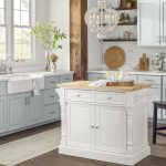 French country kitchen: decor, cabinets, ideas and curtains