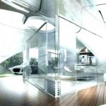 Futuristic house designs: furniture and home decor