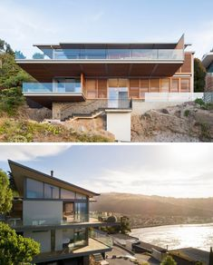 Home in New Zealand with a modern design and amazing views