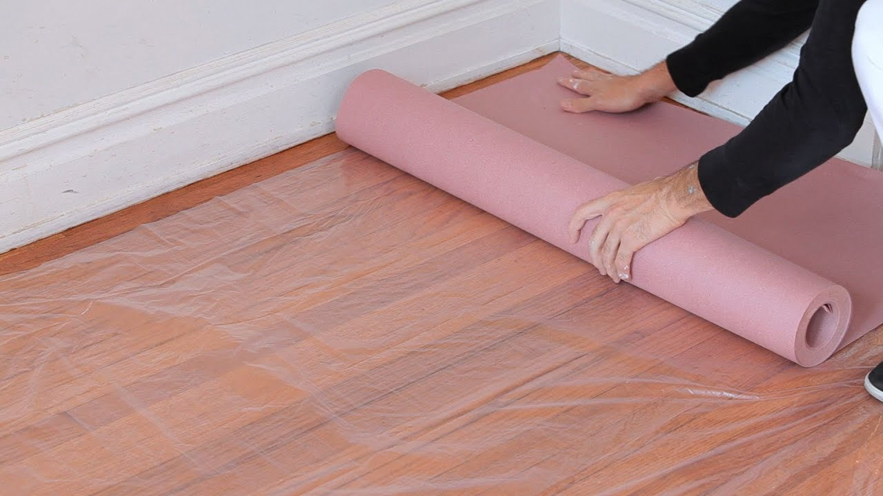 How to protect floors during renovation work