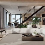 Images of modern interior design of the living room