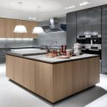 Industrial kitchen ideas: cupboards, shelves, chairs and lighting