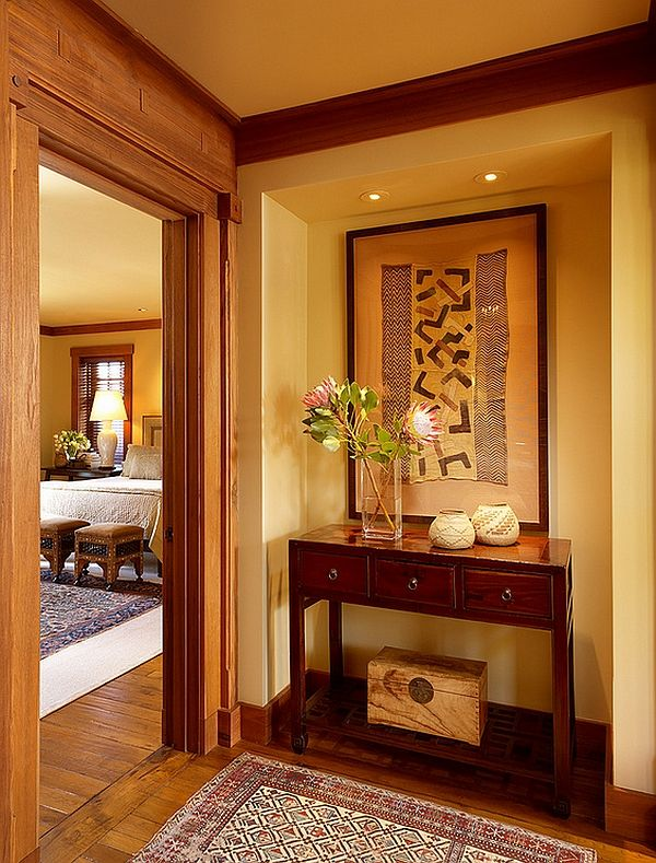 Interior design in the African style