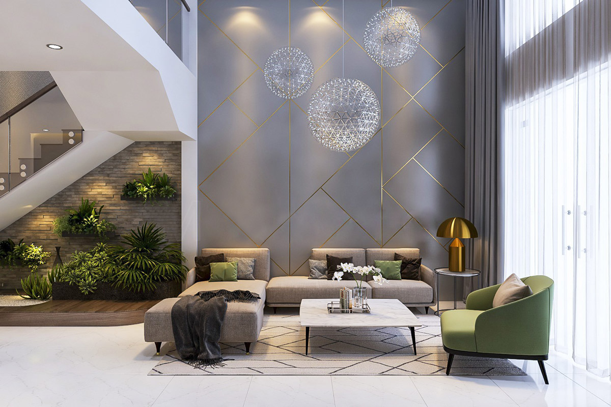 Living room interior color designs for those looking for inspiration
