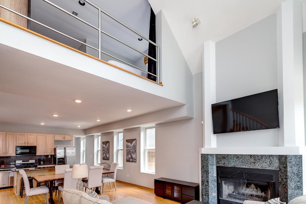 Luxury penthouse with amazing interior design