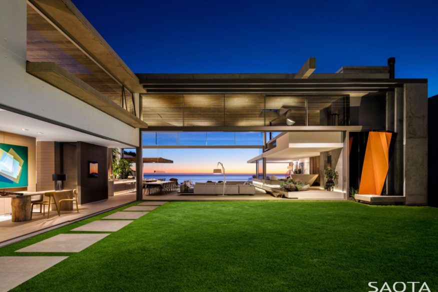 Magnificent house in South Africa by SAOTA Architects and OKHA Interiors