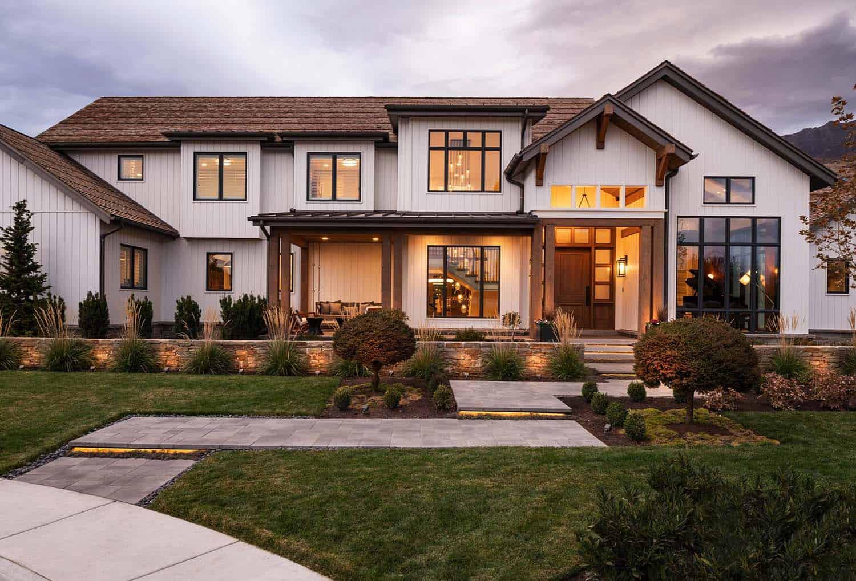 Modern interior design farmhouse style