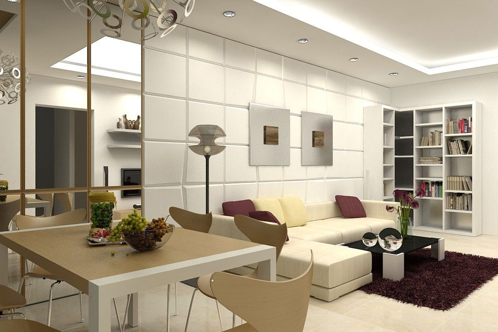 Modern interior design for the apartment by talented designers