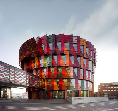 Office building with modern architecture that you want to work in