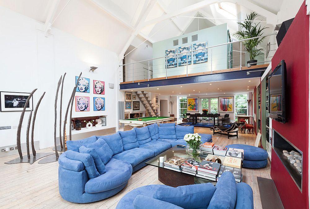 Open floor plan ideas for contemporary home