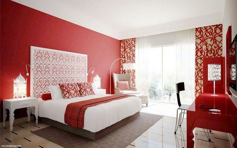 Red bedroom ideas: decor, walls, paint, and furniture