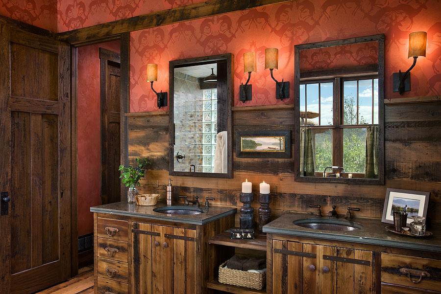 Rustic bathroom design: ideas, vanities, decor and lighting