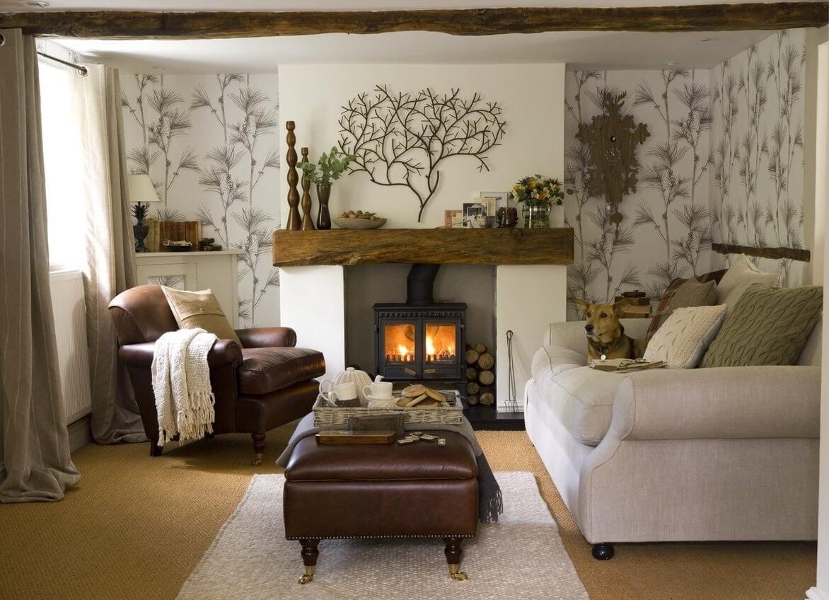 Rustic living room furniture ideas