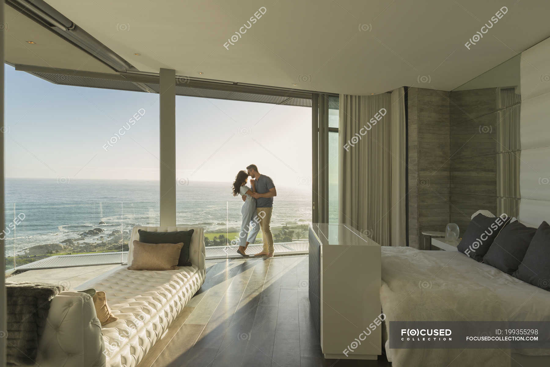 Showcase bedroom interior for couples