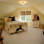 Sloping ceiling home design and decoration ideas