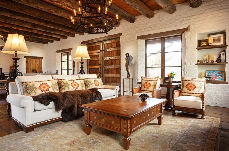 Southwestern interior design, style, and decorating ideas