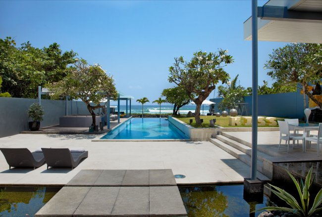 The beautifully designed villa that is Luna2 Private Hotel