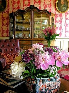 The beauty of English country style home decor