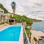The exquisite Golden Rays Villa in Croatia on the Adriatic Sea