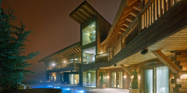 The flagship project – a house that is completely modern, luxurious and beautiful
