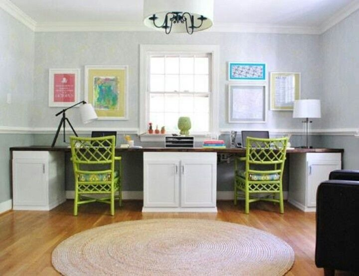 Two person desk design ideas and solutions for you