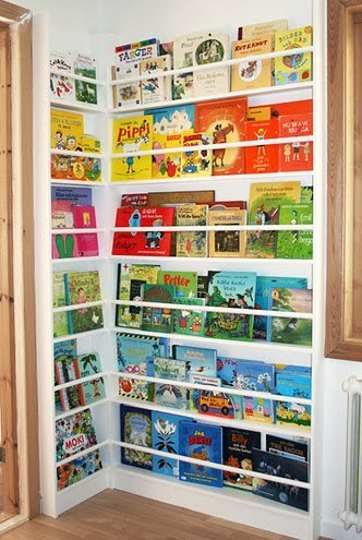 Viewing Books (Ideas for Storing Books)