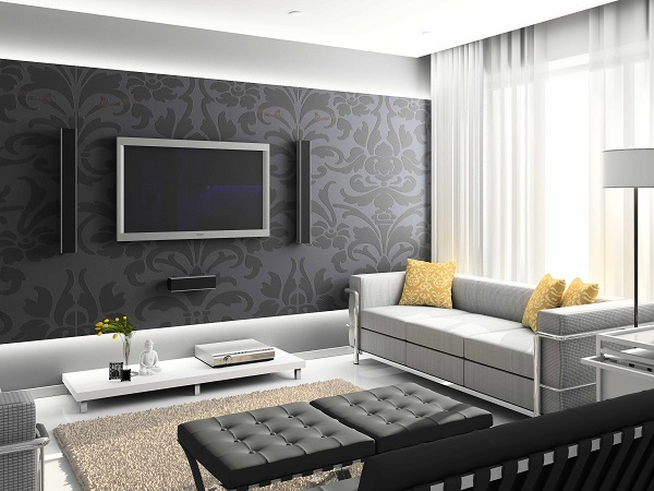 Wallpaper interior design pictures and how to choose one
