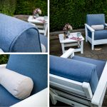 What is the best material for outdoor pillows