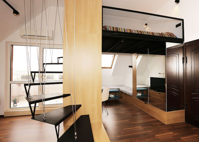 What is the difference between a studio and a loft?