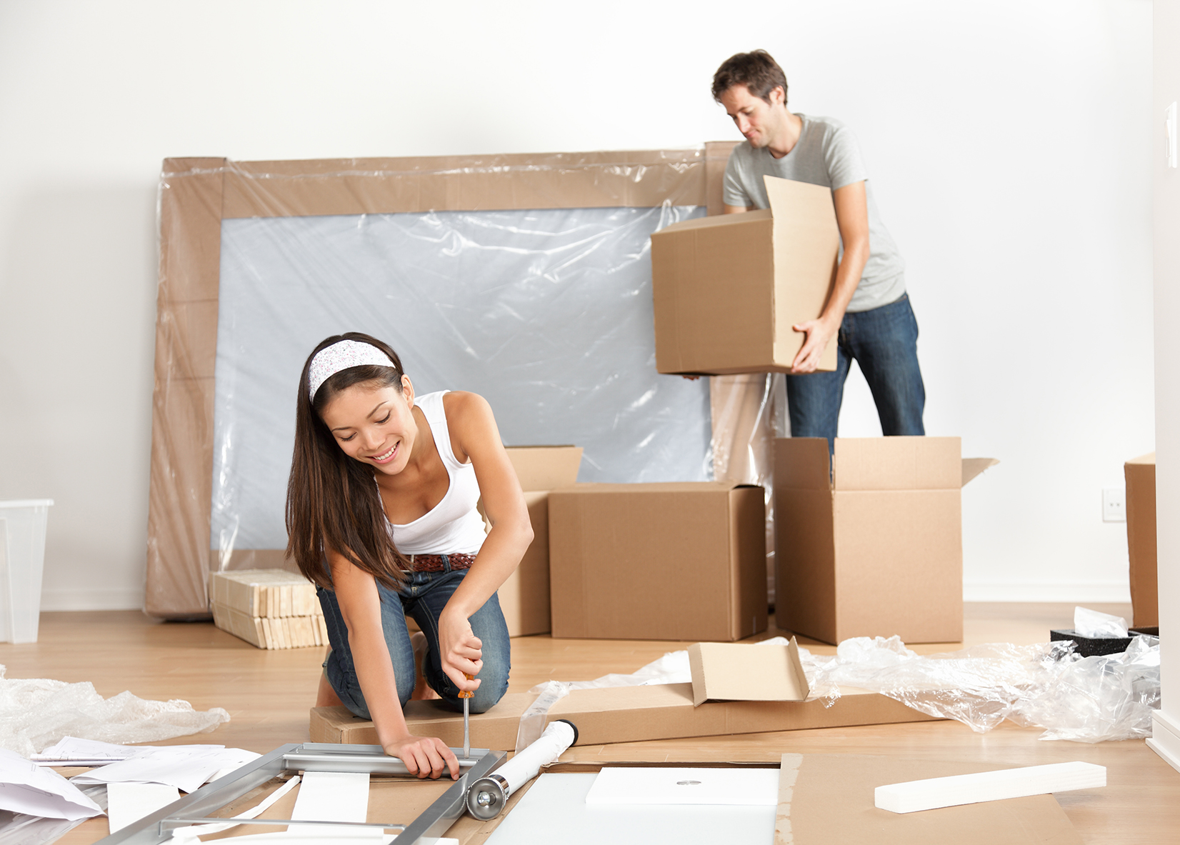 What to do when you move into a new house