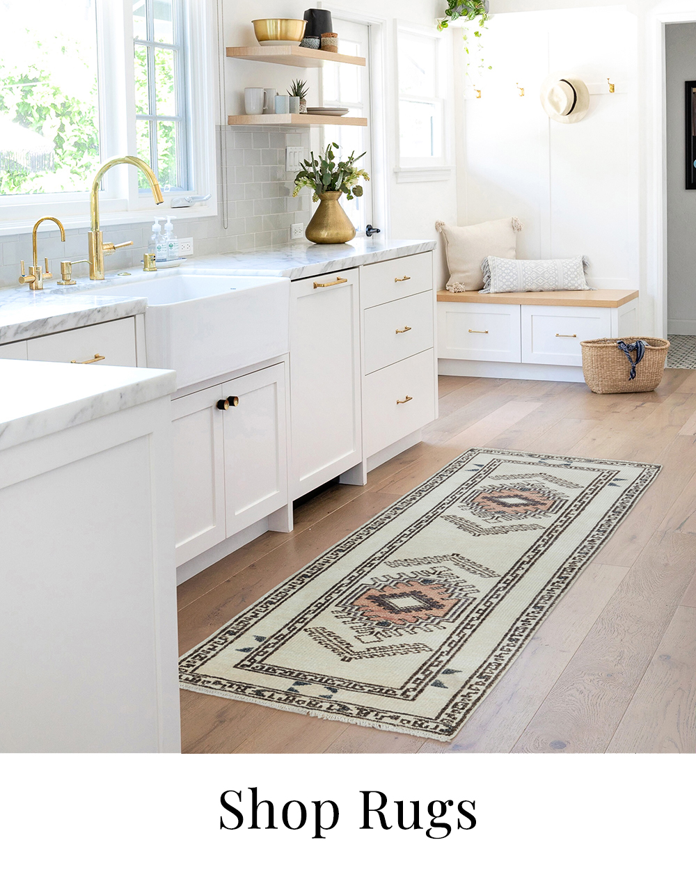 Why I decided to add southwest rugs all over the house