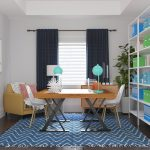 Work from home with these good colors for the home office