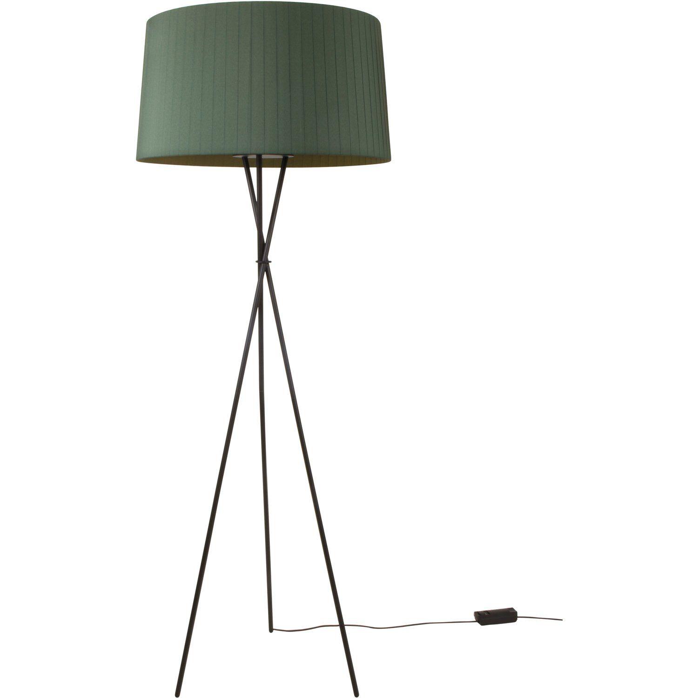 Green floor lamps