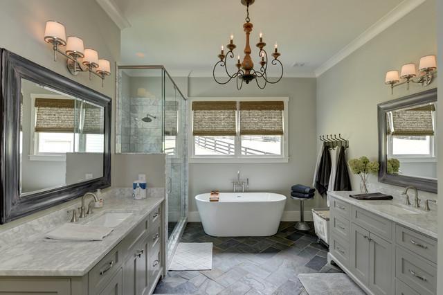 bathrooms chandeliers