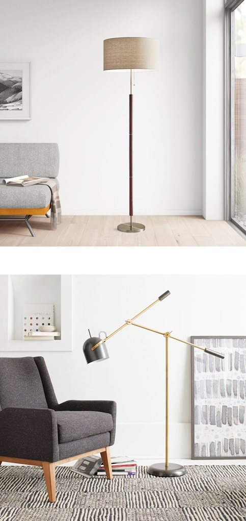 How to decorate your home with a brass lamp
