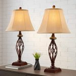 Bronze table lamp to the room