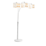Buying floor lamps in silver
