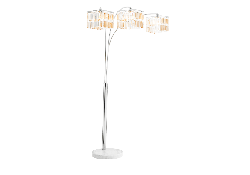 Buying floor lamps in silver