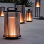 Care of floor lamps outdoors