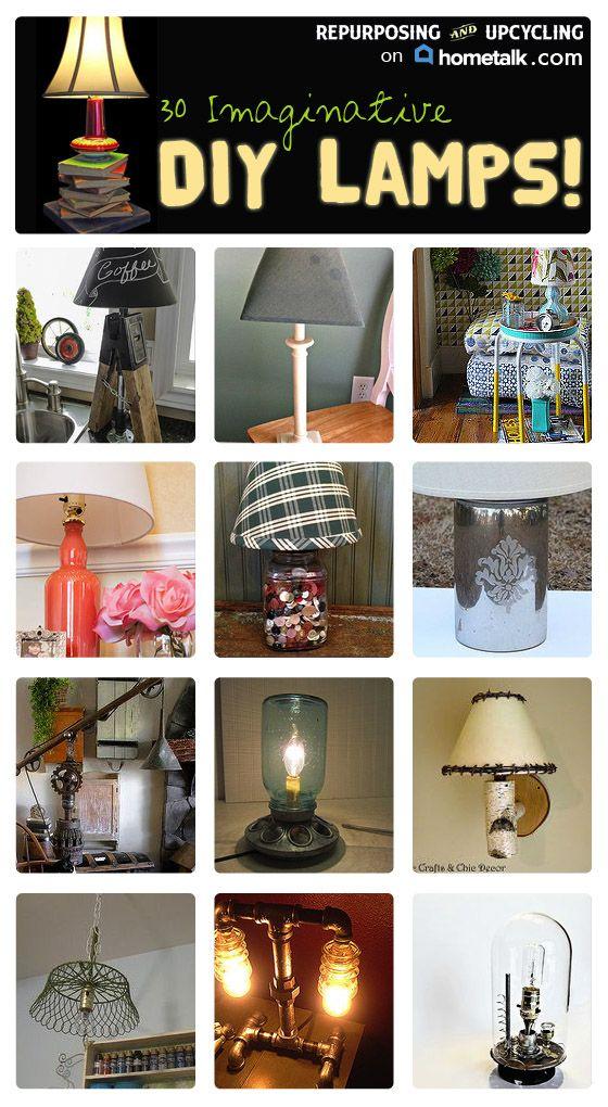 clipboard lamp ideas