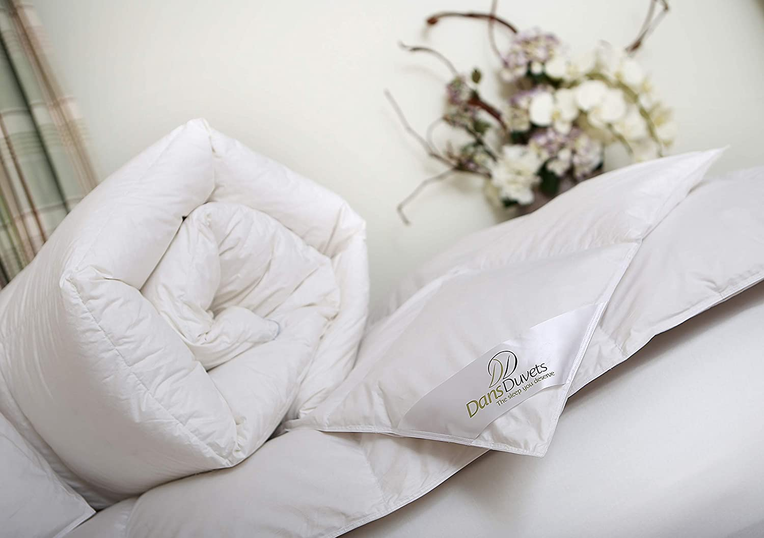 Comfortable and warm goose down duvets