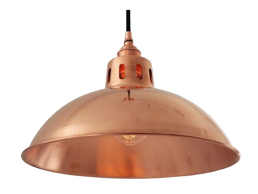 Copper pendant lamp
