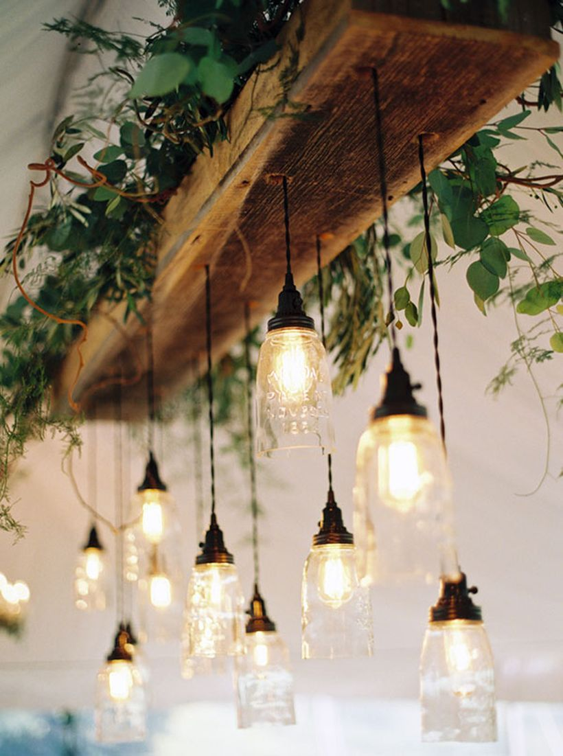 Decorate your space with rustic chandeliers