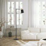 Enhance room with living room floor lamp