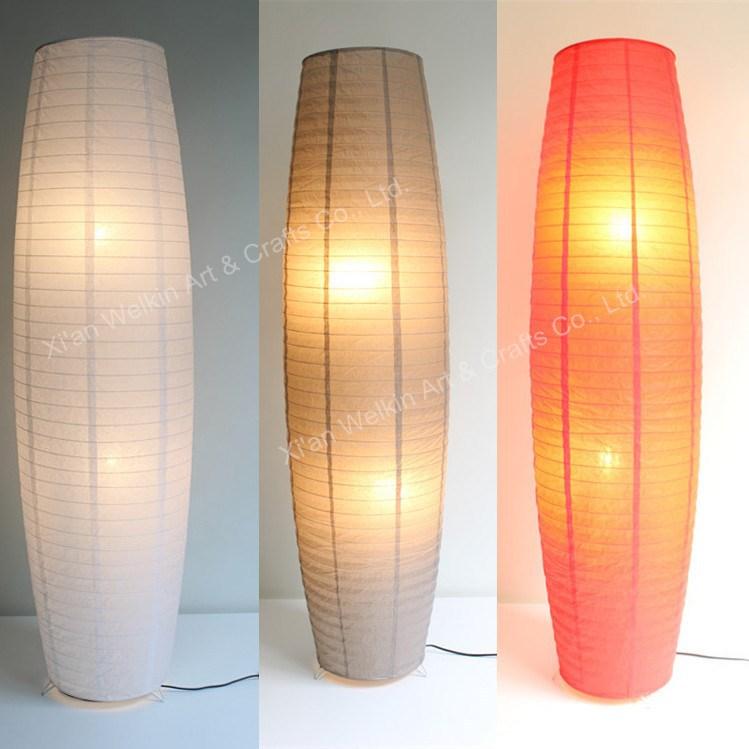floor lamp in paper