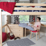 Get amazing comfort for your children from loft beds with desks